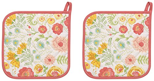 Now Designs Basic Potholders Floret