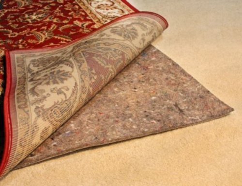 5' x 8' No-Muv Rug on Carpet Rug Pads ()