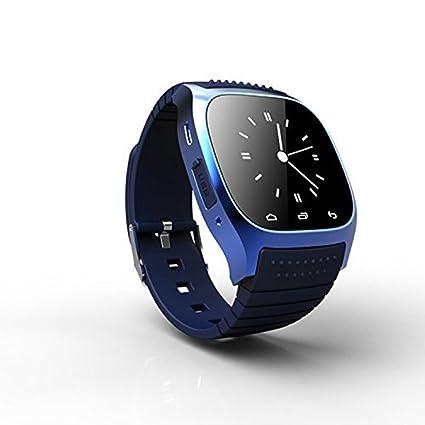 Amazon.com: RWATCH M26 Wearable Smartwatch,Media Control ...