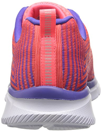 Skechers Equalizer - Expect Miracles, Mädchen Outdoor Fitnessschuhe Pink (Pkpr)