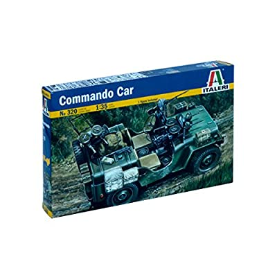 Italeri Commando Car: Toys & Games