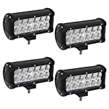 "Best Led Bar Lights - YINTATECH Led Light Bar, 4pcs 36w 6"" Flood Review"