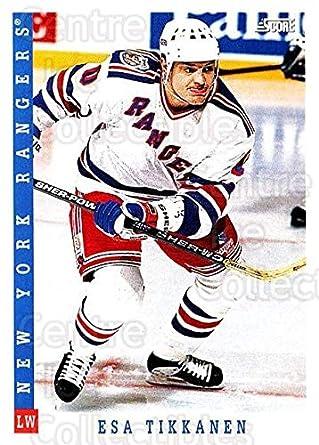 f2a667941 Amazon.com  (CI) Esa Tikkanen Hockey Card 1993-94 Score Canadian ...