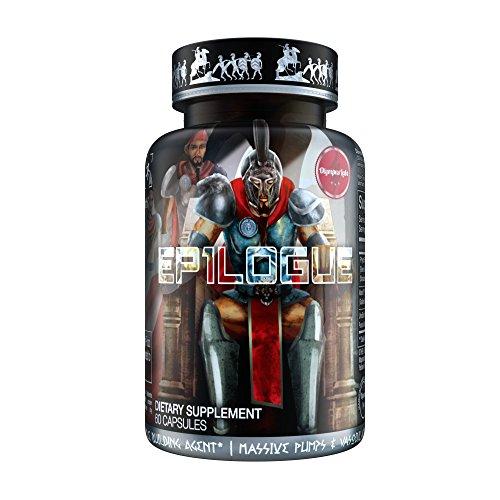 EP1LOGUE Muscle Builder & Epicatechin Supplement w/ Superior Absorption | Lean Muscle Building Formula w/ Nitric Oxide Stimulator VASO-6 & Urolithin B for Natural Body Building (Muscle Stacks Supplement Building)