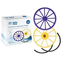 Fette Filter Compatible Pre-Motor Filter & Post-Motor HEPA Filter for Dyson DC07. Replaces Part # 901420-02 & 904979-02 - Combo Pack