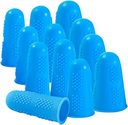 Silicone Finger Protectors Covers Caps for Hot Glue Gun Wax Rosin Resin Honey...