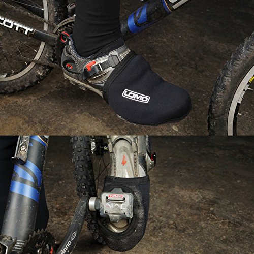 Lomo ciclismo Toe Covers–Funda de neopreno