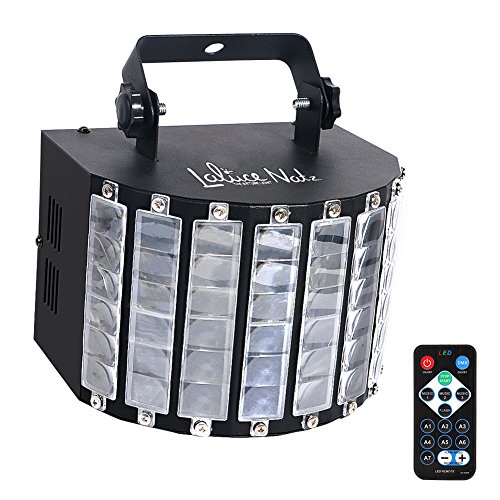 LaluceNatz DJ Lights with 27W 9 Colors Multi-effects by Remote Control and DMX512 Stage Lighting Party Disco Dance Mobile DJ Gigs (Metal Casing)