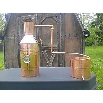 Copper Alcohol Moonshine Still
