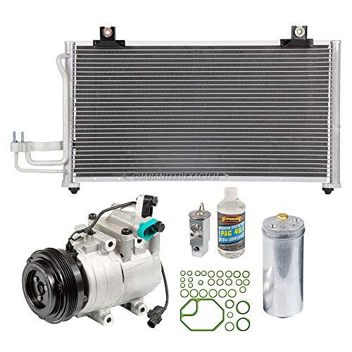 A/C Kit w/AC Compressor Condenser & Drier For Kia Sephia 2000 2001 - BuyAutoParts 60-89615CK New