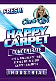 Carpet Shampoo Cleaner, Removes Stain and Odors, Compatible with Bissell & Hoover steam machine, for Rugs & Upholstery, Add 2oz per Gallon