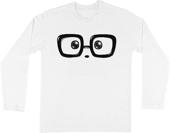 Friki Elegante Panda Ojos Niños Chicos Chicas Unisexo Camiseta ...
