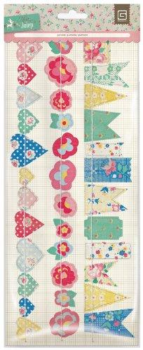 BasicGrey Mint Julep Stitched Die-Cut Paper Garland 12