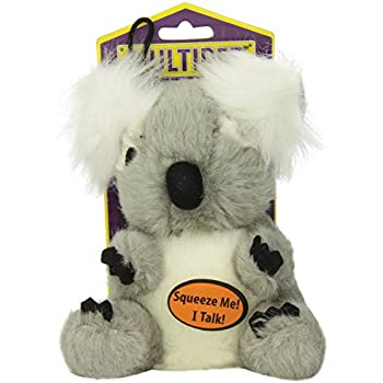 Multipet Look Who's Talking Koala Dog Toy