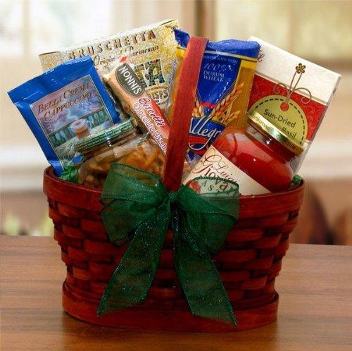 - Mini Italian Dinner For Two Gift Basket