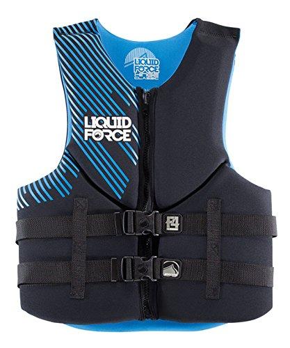 Liquid Force Hinge CGA Classic Vest Black/ Blue (Liquid Hinge Pack)