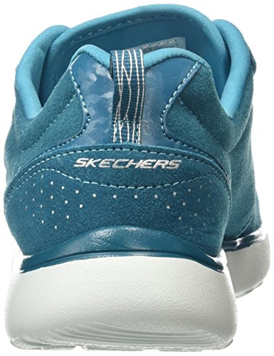 Skechers nbsp;Everything Nice Turquoise Femme Counterpart Turq Basses Sneakers OOFrqvnTw