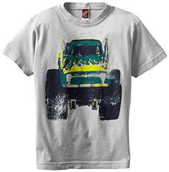 Charlie Rocket Little Boys' Monster Truck, Grey, 3T
