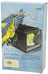 Parakeet Nest Box, Black