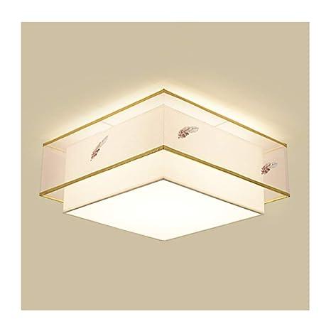 QQB & Lámparas de Techo de Estilo Chino con luz China de ...