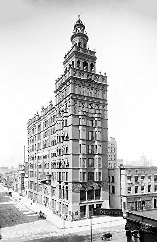 - 1905 Nasby Building, Toledo, Ohio Vintage Photograph 11