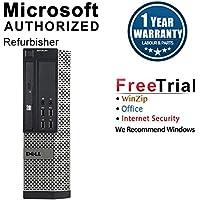 2018 Dell Optiplex 7010 Small Form Factor Desktop Computer (Intel Core i7-3770 3.4GHz,8GB DDR3 RAM,240GB SSD,DVD-ROM,Windows 10 Pro 64-Bit) (Certified Refurbished)