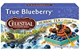 Celestial Seasonings Herbal Tea, True Blueberry, 20 Count (Pack of 6)
