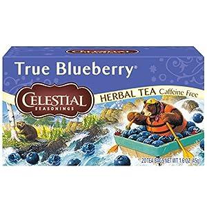 Celestial Seasonings Herbal Tea, True Blueberry, 20 Count Box (Pack of 6) 3