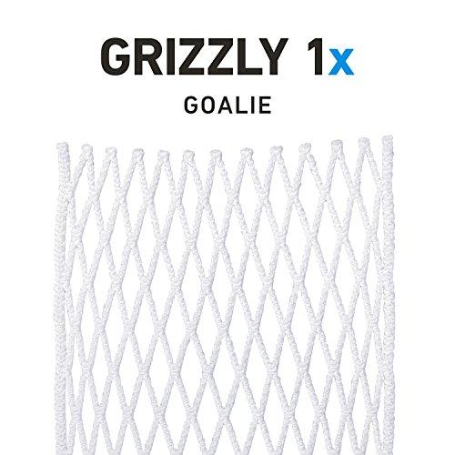 String King Grizzly 1x Semi-Hard Goalie Lacrosse Mesh Piece