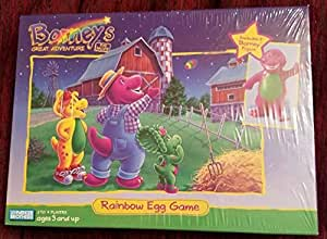 Amazon.com: Barney's Great Adventure; Rainbox Egg Game