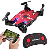 GoolRC T49 FPV Drone with Wifi Camera Live Video 2.4G 4 Channel 6 Axi Auto Foldable Arm Altitude Hold RC Quadcopter For Sale