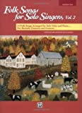 Folk Songs for Solo Singers, Vol 2: Medium High Voice, Book & CD (For Solo Singers) (Paperback) - Common