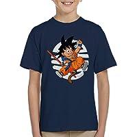 Cloud City 7 Dragon Ball Z Cute Goku Tail Kid's T-Shirt