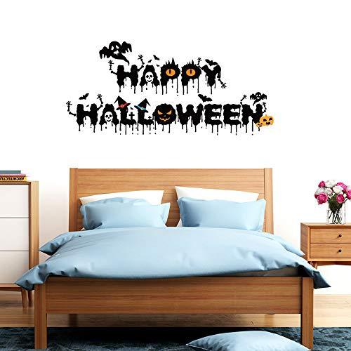 Horror Halloween Decora O Autocolantes Fantas 3d Sticker Crow Devil Decor S Decoration - Wall Stickers
