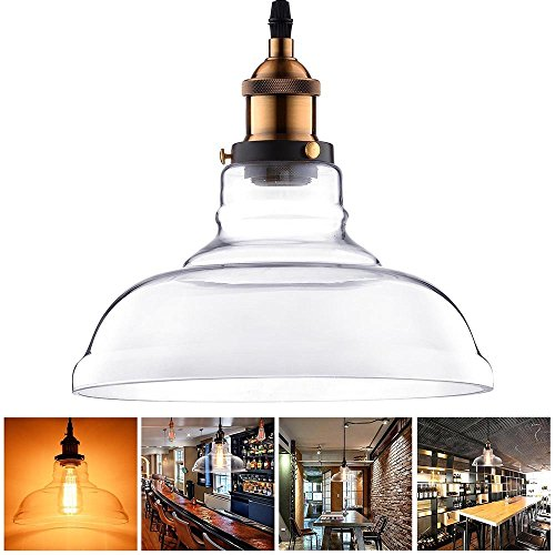 Mouth Blown Glass Pendant Light in US - 3