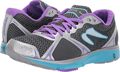 Newton Running Women's Fate 4 Silver/Violet 11 B US