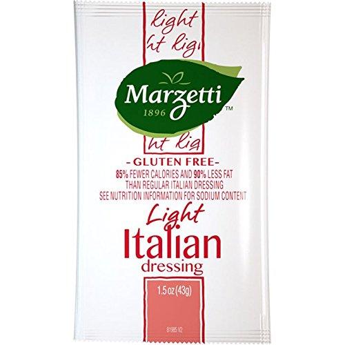Marzetti Italian Dressing, Light, 1.5 Ounce (Pack of 60)
