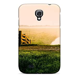 Tpu Case For Galaxy S4 With Early Morning On Sheep Meadow Creek