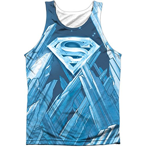 Superman+tank+tops Products : Superman Men's Solitude Mens Tank White