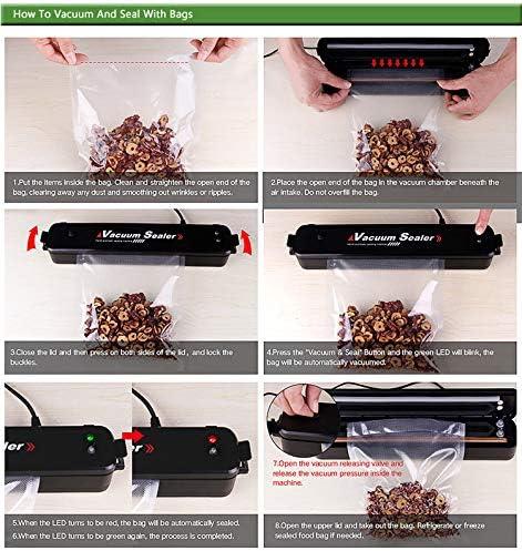 Macchine Sottovuoto Per Alimenti Macchine Sottovuoto Sottovuoto Macchinetta Sistema Di Tenuta Automatico A Vuoto Per Alimenti Freschi Sia Secchi Che Umidi