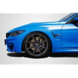 Carbon Creations DriTech M4 Look Front Fenders - 4 Piece Body Kit - Fits BMW 4 Series - 2014 2015 2016 2017 2018 | 14 15 16 17 18 (ED-OIY-490)