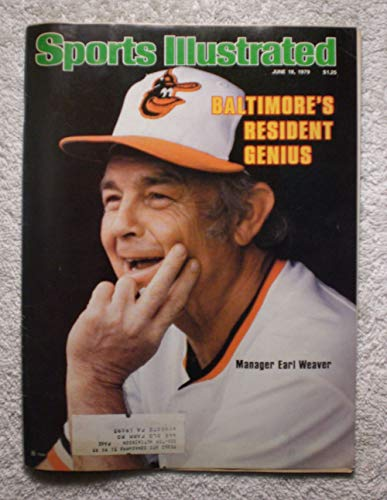 Manager Earl Weaver - Baltimore Orioles - Sports Illustrated - June 18, 1979 - SI