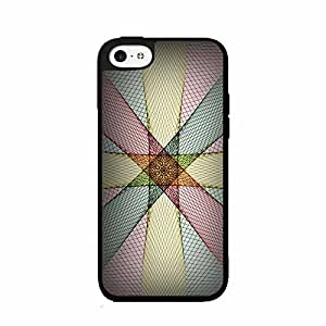 Light of Ja Colors Plastic Phone Case Back Cover iPhone 5c includes diy case Cloth and Warranty Label