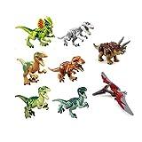 ArRord 8Pcs Jurassic Dinosaur Building Blocks Sets Dinosaur - Best Reviews Guide