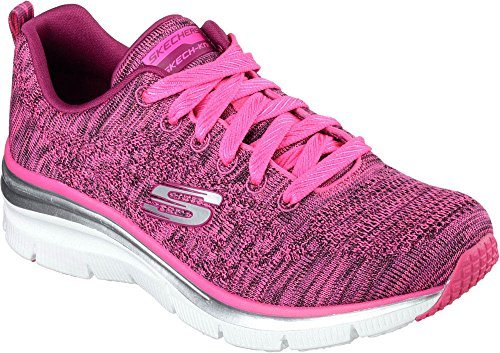 Scarpa Fashion Chic Skees Raspberry Style Fit Donna Skechers Tecnica qXw4Rxw