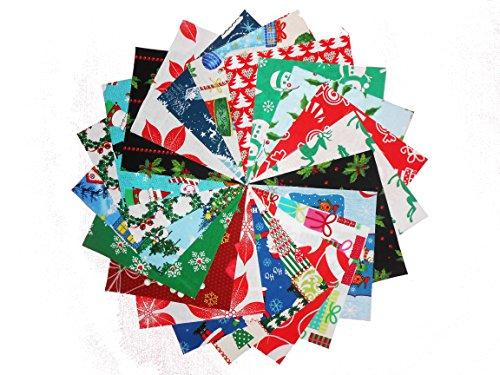 Santa Christmas Fabric (80 5