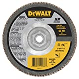 "DEWALT DWA8286H 40G T29 XP Ceramic Flap Disc, 7"" x"