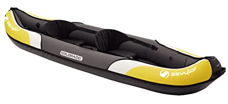 SEVYLOR Colorado Kayak, Unisex, Amarillo, 333 X 90 cm: Amazon.es ...