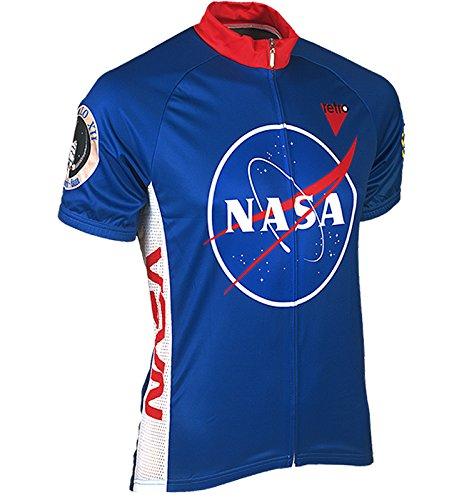 Retro Two Men's NASA Short-Sleeve Jersey L Blue