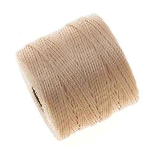 BeadSmith Super Lon Cord Twisted Natural